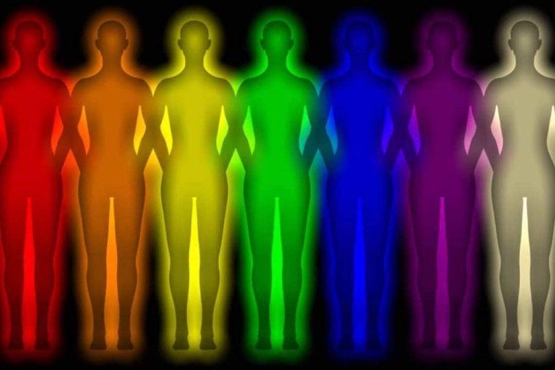 Human auras color