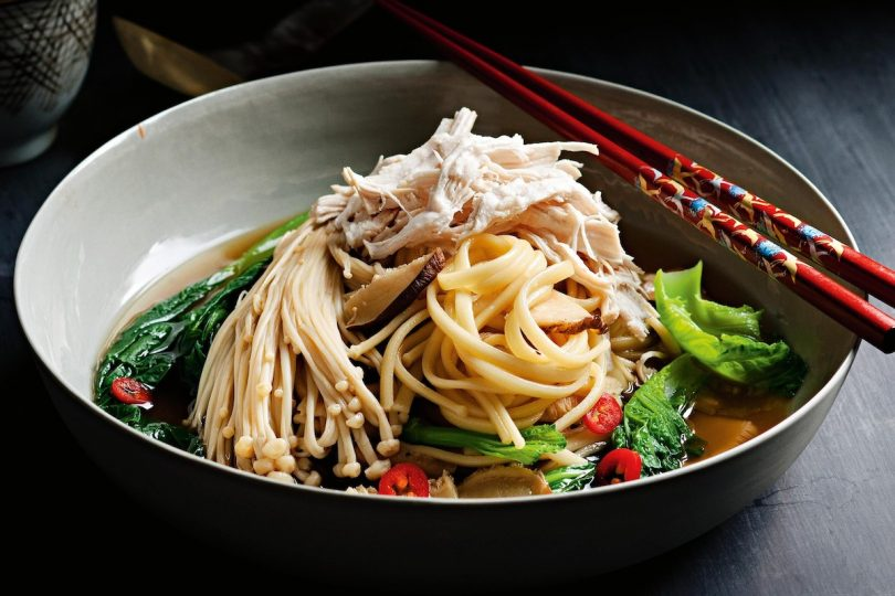 Healthy Japanese noodles high fiber no carbs plus taste delicious